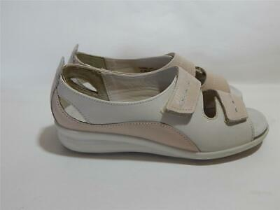 Hotter Ladies Florence Beige easy fit shoes Size 4.5 Std UK 37.5 EU