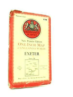 One-Inch Map of Great Britain Sheet 176 Exeter (Anon - 1946) (ID:79993)