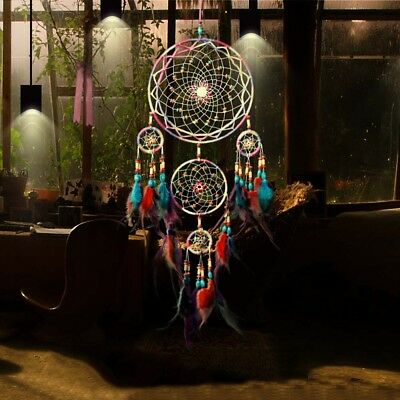 Beautiful Handmade Dream Catcher Feather Wall Hanging Home Decor Ornament Gift