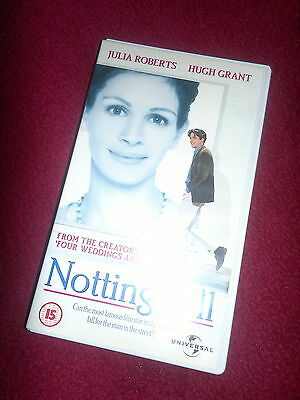 Notting Hill Hugh Grant Rare Deleted Vhs Julia Roberts Rhys Ifans Brit Comedy