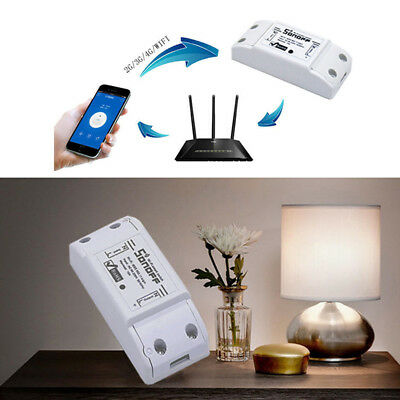 ASonoff Basic Smart Home WiFi Wireless Switch Module For IOS Android APP Ctrl