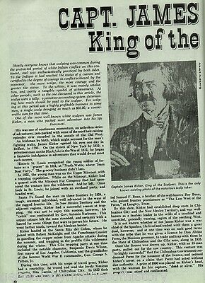 Capt. James Kirker, King of the Scalpers+Apache,Beaubien,Bent,Carson
