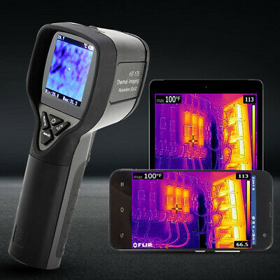 HT-175 Handheld IR Imager -20~300° Measuring Infrared Thermal Imaging Camera TD