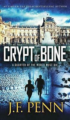 Crypt of Bone by J.F. Penn Hardcover Book Free Shipping!