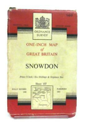 One Inch Map of Great Britain Sheet 107 Snowdon (Anon - 1953) (ID:86298)