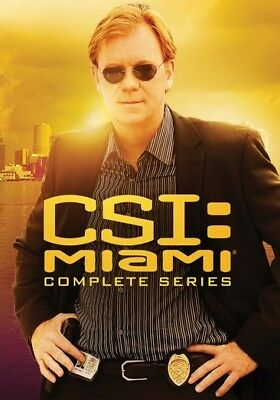 CSI: Miami - The Complete Series (DVD,2012)