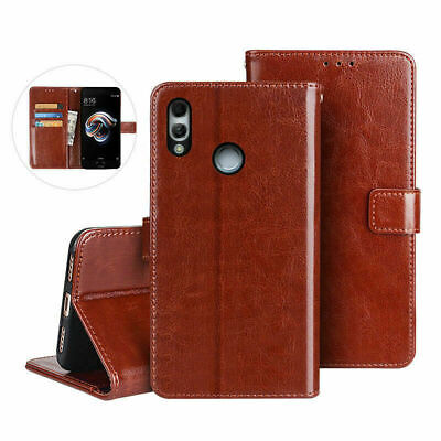 Luxury Real Genuine Leather Case For Xiaomi Wallet Flip Cover Shockproof Stand