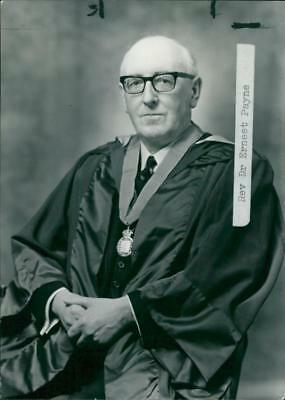 Rev E.A Payne. - Vintage photo