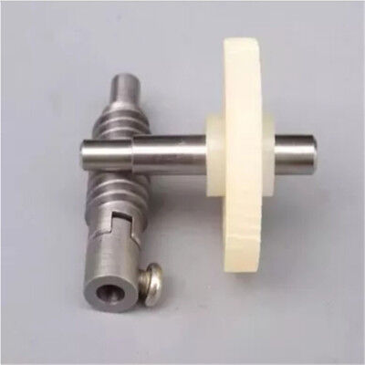 Metal Worm Wheel  Plastic Gear Reducer Reduction Gearset for DIY Accessories AS