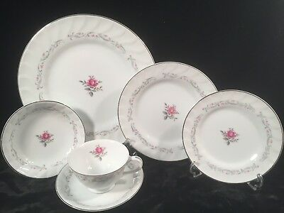 Royal Swirl by FINE CHINA OF JAPAN 24 pc Service for 4