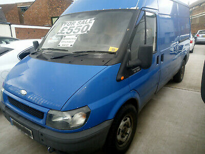 Ford Transit 2004 (04 Reg) Lwb Long Wheel Base 115 T350 Van Fwd