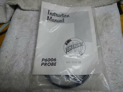 Tektronix P6006 Probe with Manual NEW in packaging