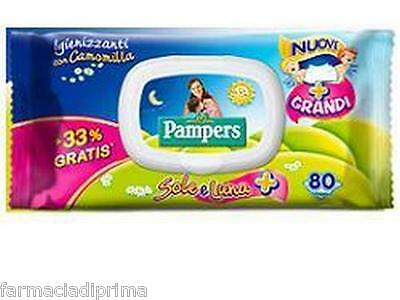 PAMPERS Sole/Luna Salviette Camomilla 20 conf. da 60 salviette - 1.200 Wipes