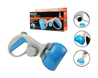 Pooper Scooper Dog Pet Poop Poo Hygenic Waste Picker Grabber Scoop 20 Bags Blue