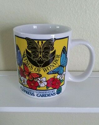CYPRESS GARDENS Florida Souvenir WINGS of WONDER Butterfly Conservatory VINTAGE