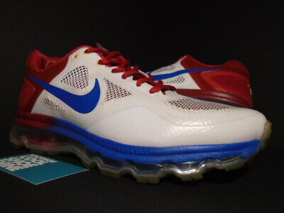 promo code 065e1 b0f12 2011 Nike Air Trainer 1.3 Max Breathe Mp 90 Manny Pacquiao White Blue Red  10.5