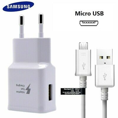 Original Samsung Fast Charger Micro USB Cable For Galaxy S6 S7 Edge Note 4 5 J7