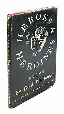Reed Whittemore / Heroes & Heroines Signed 1st Edition 1946