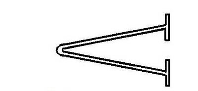 65mm AVERY DENNISON ATTACHMENT Loop Hanging Pin TAG KIMBLE for TAGGING GUN 06310