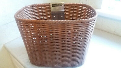 SHOPRIDER WICKER EFFECT FRONT SHOPPING BASKET mobility scooter