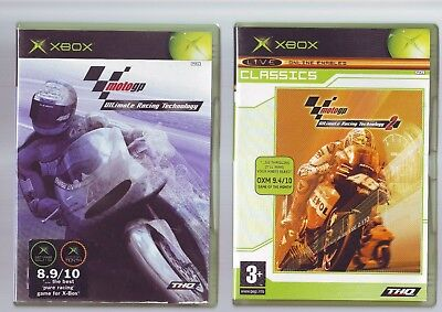 Motogp Ultimate Racing Technology 1 & 2 - Xbox Game / 360 Compatible - Complete