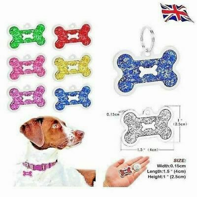 FREE Personalised IMPACT ENGRAVING Dog ID / Cat ID Name Tag Puppy Pet ID Tags UK