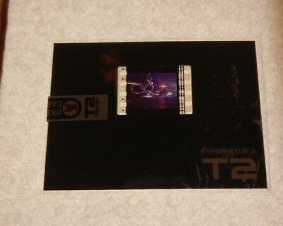 Terminator 2 T2 25 Years On Film Cell Fc1 Trading Card Unstoppable Cards F