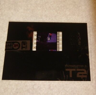 Terminator 2 T2 25 Years On Film Cell Fc1 Trading Card Unstoppable Cards G