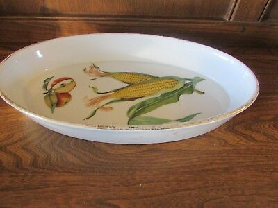 Royal Worcester~Evesham Gold~31.7cmsX18.5cms Diameter Oven to table Dish