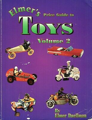 Elmer's Toys Price Guide #2 by Elmer Duellman Vintage Antique Collectible Cars