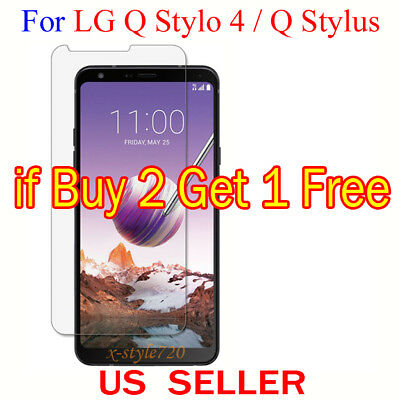 1x Clear Screen Protector Guard Cover Shield Film For LG Q Stylo 4 / Q Stylus