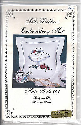 Silk  Ribbon  Embroidery  Kit  Hats Style 101 by Jupiter   Kit