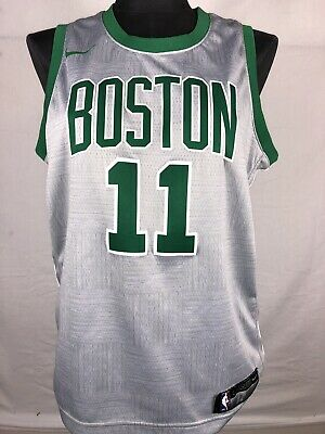 11e9d4a1b37 Boston Celtics Jersey Youth Large Kyrie Irving  11 Swingman Nike NBA Gray