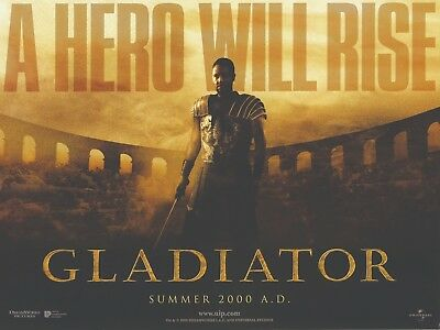 Gladiator movie poster - Russell Crowe, Ridley Scott - 12 x 16 inches