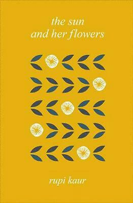 Sun and Her Flowers by Rupi Kaur Hardcover Book Free Shipping!