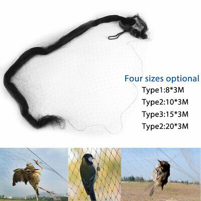 4x6m Green Anti Bird Netting Pond Net Protect Tree Plant Fruit Garden 3cm Mesh