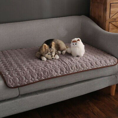Fashion Pet Dog Cat Beds Crate Soft Cool Sleep Mat Pad Liner Home Indoor Blanket