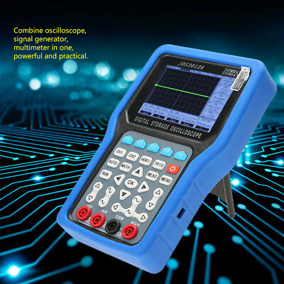 JDS3012A Handheld Digital Oscilloscope 250MSa/S 30MHz W/ 6000-count Multimeter