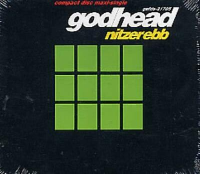 "Godhead Nitzer Ebb USA CD single (CD5 / 5"") GEFDS-21705 GEFFEN 1992"