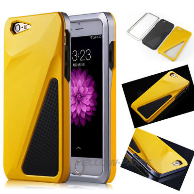 Shockproof Rugged Man Cool Car Phone Case Cover Skin For iPhone 6 6s Plus+Film