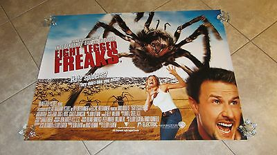 EIGHT LEGGED FREAKS movie poster DAVID ARQUETTE poster, GIANT SPIDERS