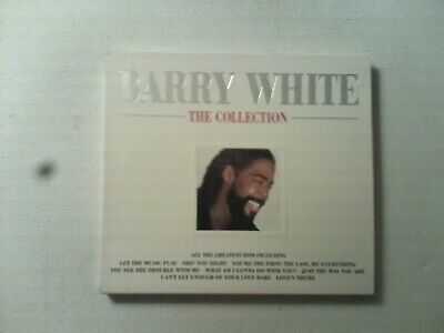 BARRY WHITE:THE COLLECTION Cd Album
