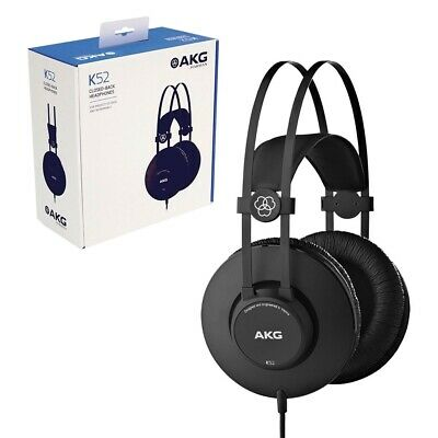 AKG K52 Closed-Back Professional Quality Headphones with 3.5mm Gold Jack Plug