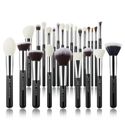 Jessup 25Pcs  Best Makeup Brushes Set Powder Blusher Foundation Kabuki Contour
