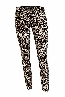 Low Rise Womens Natural Leopard Genuine Darkside Skinny Fit Hipster Jeans
