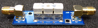 868MHz CERAMIC  BANDPASS FILTER FOR FLARM RECEIVER FREQUENCY. LOW INSERTION LOSS