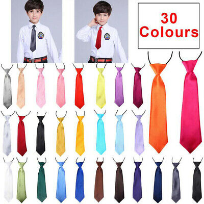 Children Kids Toddler Boys Bowtie Pre Tied School Bow Tie Necktie Wedding Party
