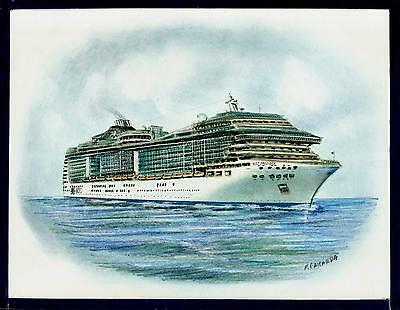 1:1250 MSC Preziosa Modell Cruise ship