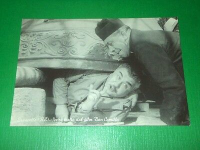 Cartolina Cinema - Brescello - Scena tratta dal film Don Camillo 1960 ca #1