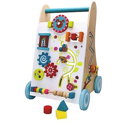 Walker of Wood Baby Walker Infant Baby Walker Pegging Game Accessories